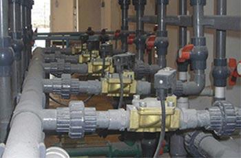 黄铜水用电磁阀应用工程案例