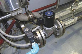 ZBSF全不锈钢蒸汽电磁阀应用工程案例