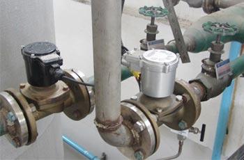 ZCM直动式防爆煤气电磁阀应用工程案例