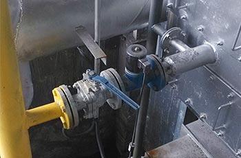 ZCZP铸钢中温电磁阀应用工程案例